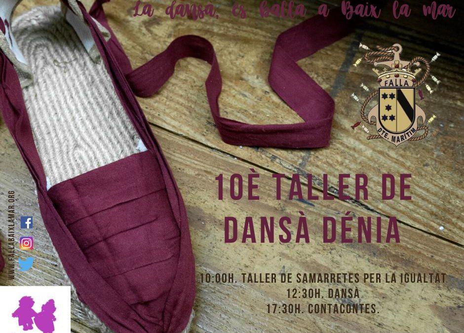 X taller dansa de Dénia i conta contes Igualitari