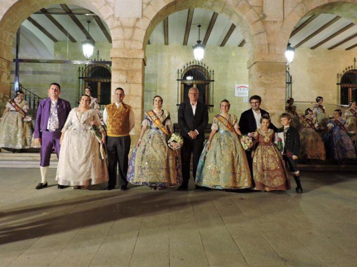 Elecció de les Falleres Majors de Dénia