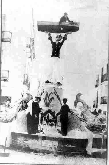 "Any 1961. ""La Nau del me'n fot"" Premi 3r"